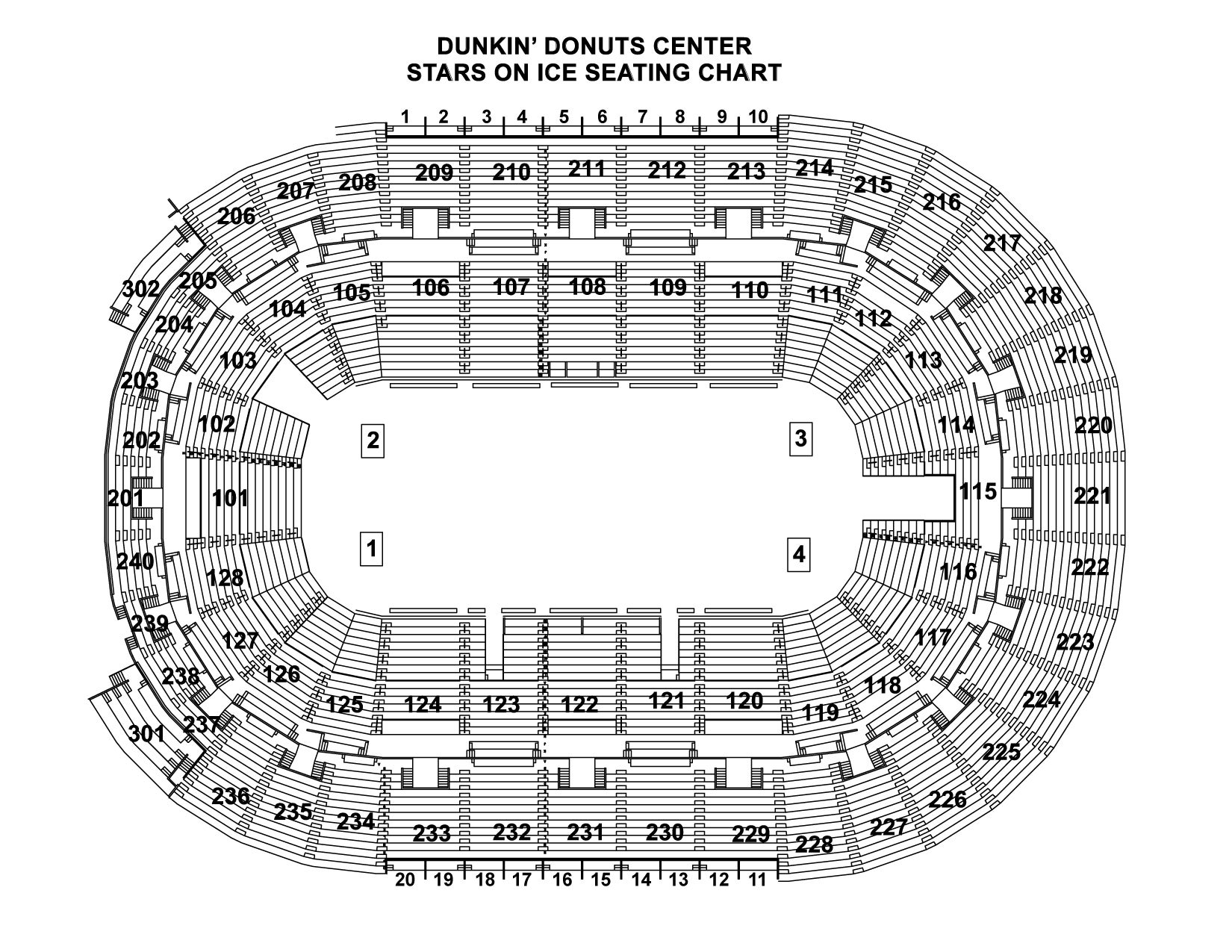 Stars On Ice Seating Chart