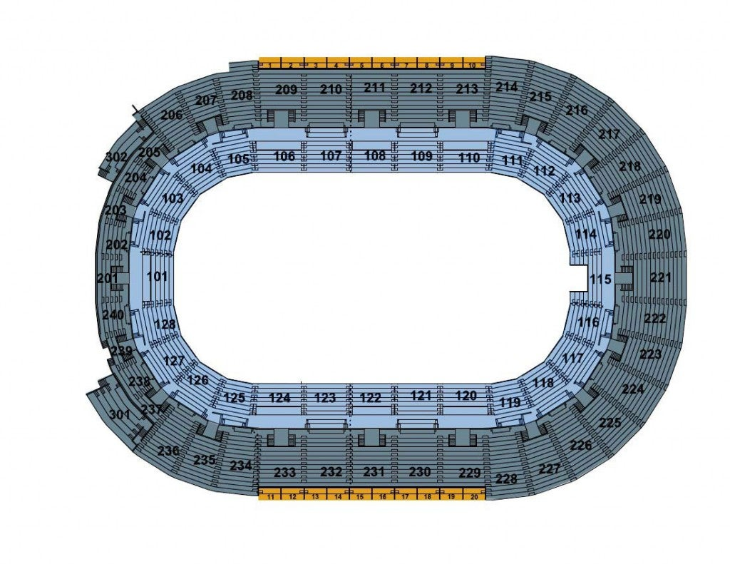 Monster Jam Seating Chart